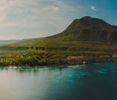 Panorama ostrova