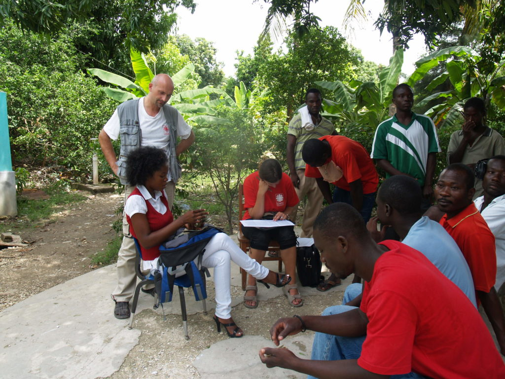 2010: ACHO pomáhá na Haiti