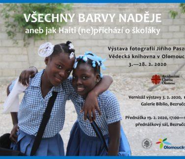 Výstava o Haiti