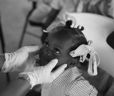 Koronavirus na Haiti - ilustracni foto