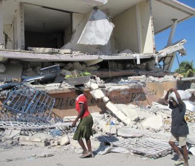 zemětřesení na Haiti (ilustrační fotografie)